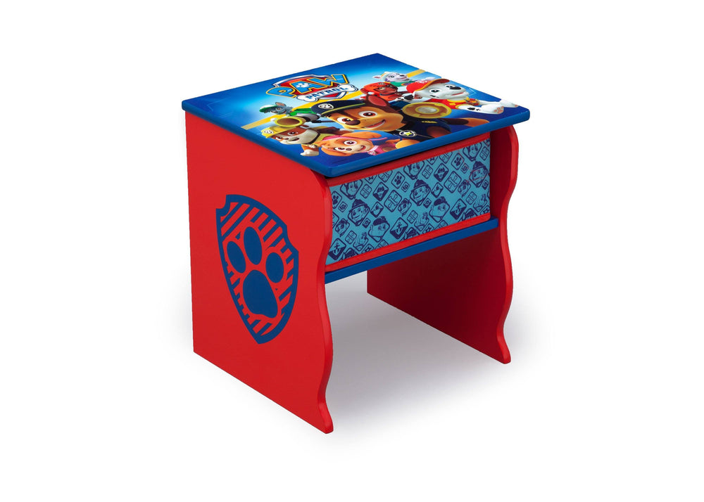 Delta Children PAW Patrol (1121) Side Table with Storage, Right Angle, a1a