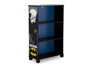 Delta Children Batman (1200) Batman Deluxe 3-Shelf Bookcase (FL86731BT), Side Silo, a2a