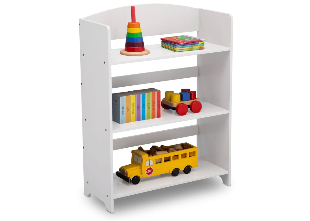 Delta Children Bianca (130) MySize Bookshelf, Right Angle, b2b