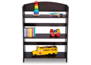 Delta Children Dark Chocolate (207) MySize Bookshelf, Front Detail, c5c