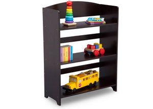 Delta Children Dark Chocolate (207) MySize Bookshelf, Right Angle, c2c