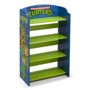 Delta Children TMNT Bookshelf, Right View Ninja Turtles (1117)