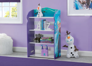 Delta Children Frozen Bookshelf, Hangtag, a1a Frozen (1091)