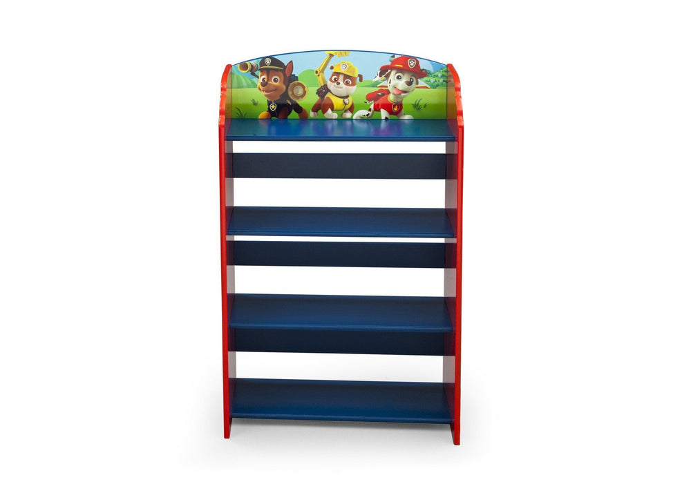 Delta Children Paw Patrol Bookshelf Front View