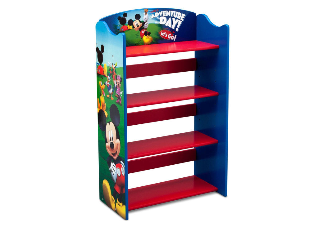 Delta Children Mickey Mouse Bookshelf Right View a2a