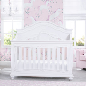 Fairytale 5-in-1 Convertible Crib with Conversion Rails