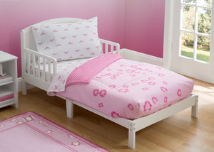 Girls Soft Kids Area Rug, Princess Gingham (2008) h1h