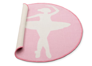 Delta Children Ballerina (3007) Non-Slip Area Rug for Boys, Silo View