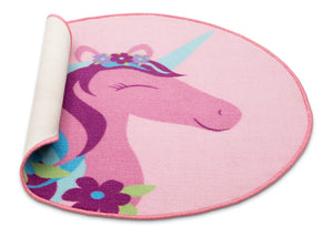 Delta Children Unicorn (3011) Non-Slip Area Rug for Boys, Silo View