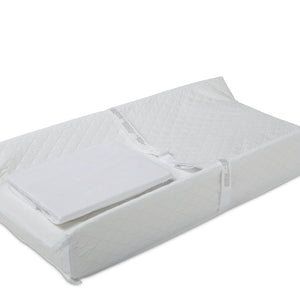 Simmons Kids ComforPedic from Beautyrest® Contoured Changing Pad with Plush Cover (H59410-3158), a1a