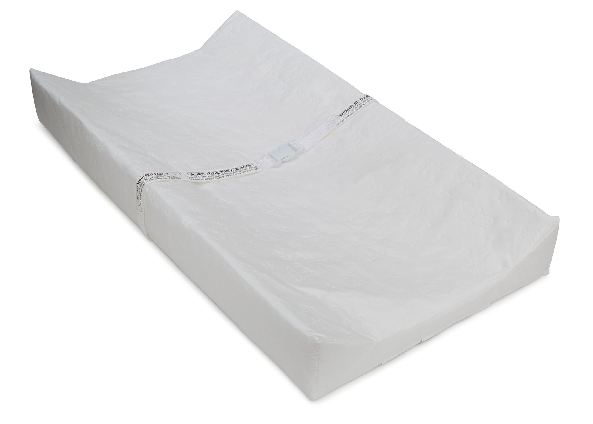Delta Children Contoured Changing Pad, Right Silo View