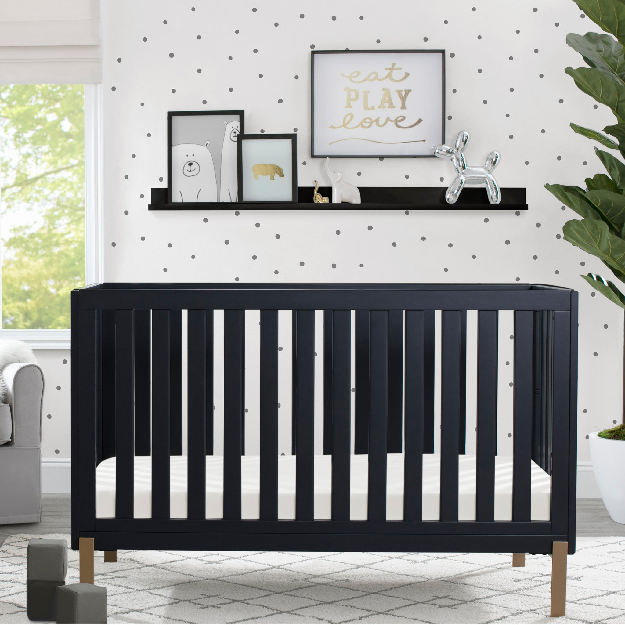 Hendrix 4-in-1 Convertible Crib