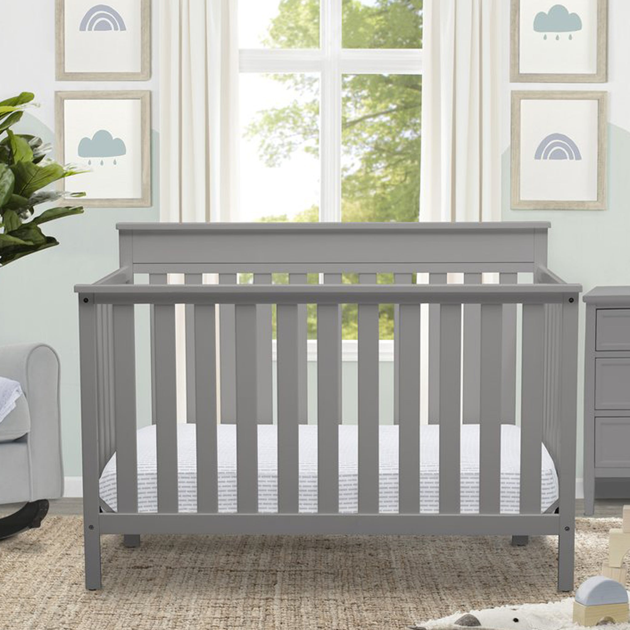 Kingswood 4-in-1 Convertible Baby Crib