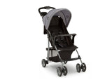 Little Folks Grey (2172) Classic Tour Stroller by Delta Children, Right Silo View