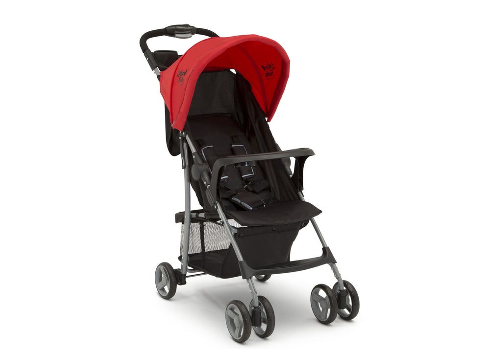 Little Folks Red (2173) Classic Tour Stroller by Delta Children, Right Silo View