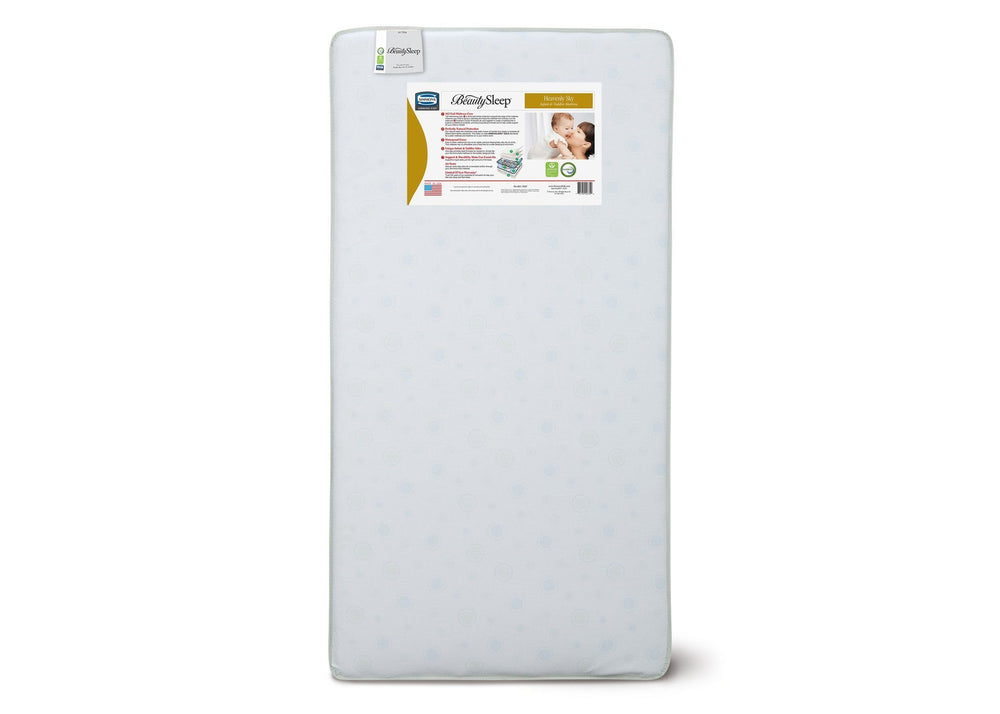 Simmons Kids Heavenly Sky Infant & Toddler Mattress Front View a4a