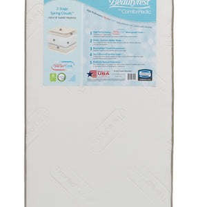Beautyrest (5028) ComforPedic from Beautyrest Comfort Nights Crib and Toddler Mattress (M59235), Front Silo, a1a No Color (NO)