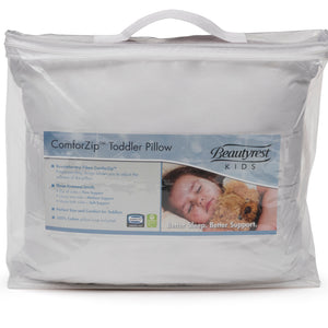 Beautyrest KIDS ComforZip Toddler Pillow Packaged View a1a