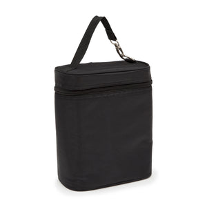 Delta Children Insulated Double Bottle Bag Black (001), Right View a1a