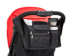 Delta Children Black (001) Universal Stroller Organizer Stroller Attached View a4a