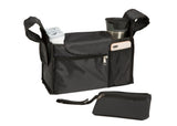 Delta Children Black (001) Universal Stroller Organizer Closed Separate View a3a