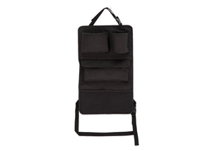 Delta Children Black (001) Backseat Car Organizer Front View a1a