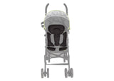 Delta Children Black (001) Universal Cushioned Knit Stroller Liner Front Detail Stroller View a4a
