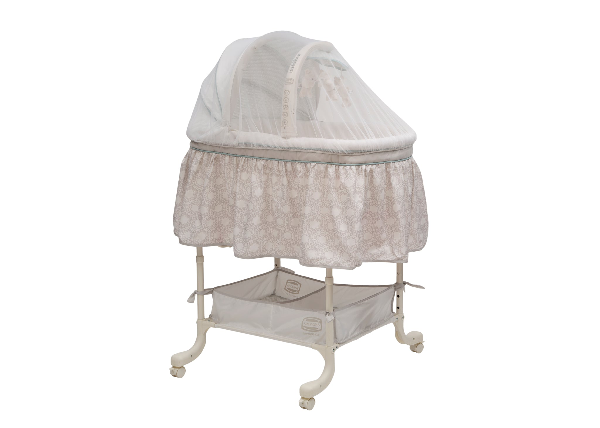 Delta Children White (100) Universal Mosquito Net for Infant Cars Seats, Infant Strollers & Bassinets Bassinet View a5a