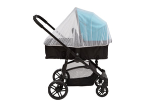 Delta Children White (100) Universal Mosquito Net for Infant Cars Seats, Infant Strollers & Bassinets Stroller View a2a