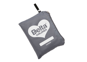 Delta Children Car Seat Gate Check Bag for Airplane, Main View Satellite Gray (094)