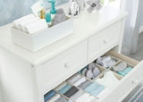 Delta Children Natural (160) Set of 5 Storage Organizers, Dresser Lifestyle View