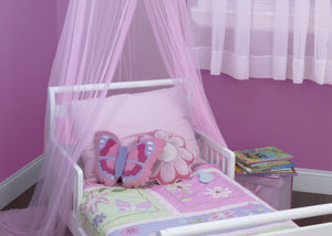Delta Children Pink (660) Decorative Canopy in Setting b1b