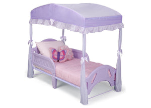 Delta Children Toddler Bed Canopy Style 1 Purple (500) Right Side View a2a