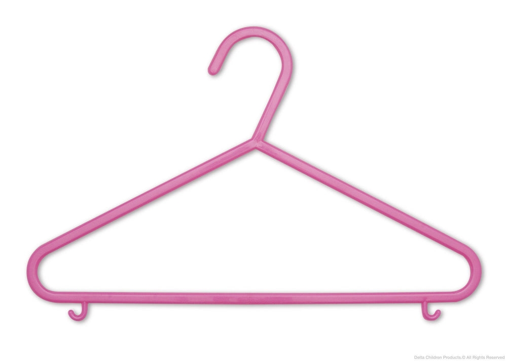 Delta Children Pop Diva (670) 10 Pack Basic Hangers e1e