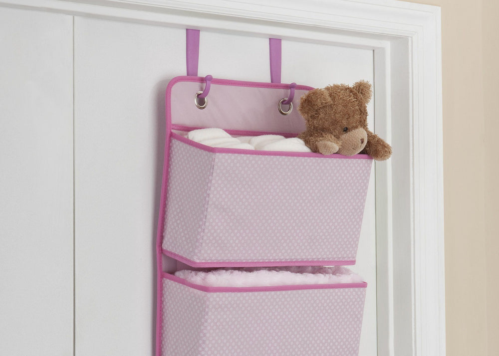 Delta Children Barely Pink (689) 4 Pocket Organizer with Setting c2c