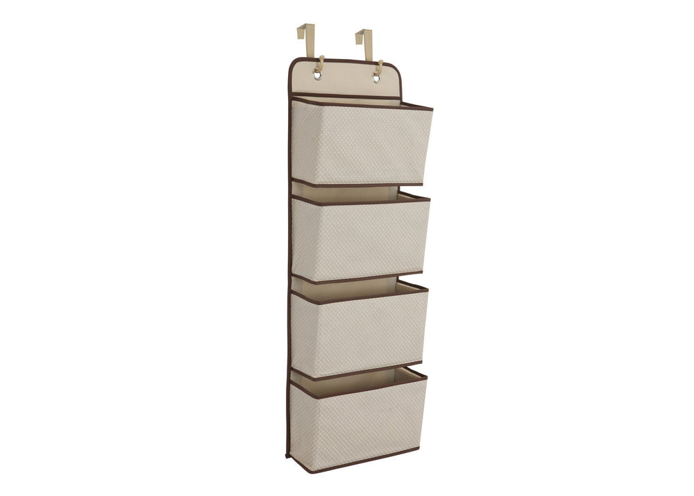 Delta Children Beige (250) 4 Pocket Organizer b1b