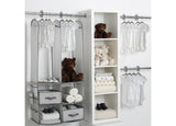 Delta Children Grey (063) 48-Piece Nursery Storage Set (SS2056), Room, b1b
