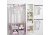 Delta Children Infinity Pink (693) 48-Piece Nursery Storage Set (SS2056), Room, f1f