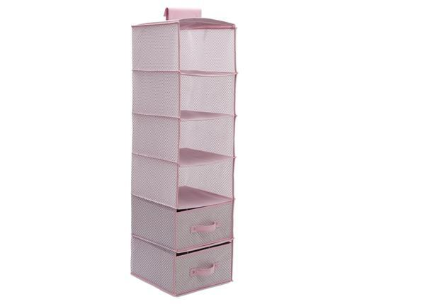 Delta Children Infinity Pink (693) 6 Shelf Storage with 2 Drawers Drawer Option  sc 1 st  Delta Children & 6 Shelf Storage with 2 Drawers | Delta Children