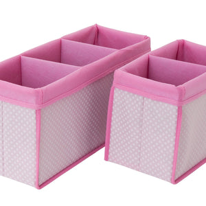 Delta Children Barely Pink (689) 2-Piece Nursery Organizer Set a1a
