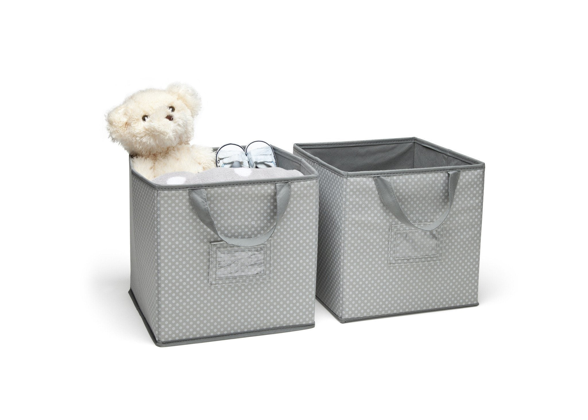 Bon ... Delta Children Dove Grey (058) 2 Piece Storage Cube Set (SS2155)