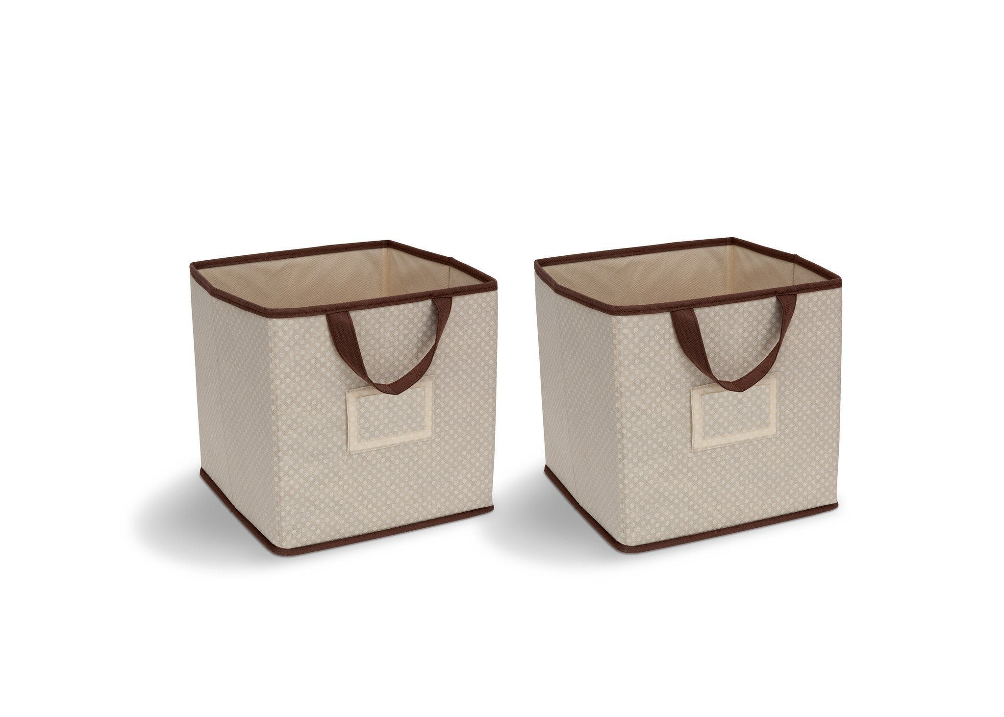 Delta Children Beige (250) 2-Piece Storage Cube Set (SS2155) c1c