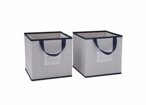 Delta Children Navy (417) 2-Piece Storage Cube Set (SS2155) d1d