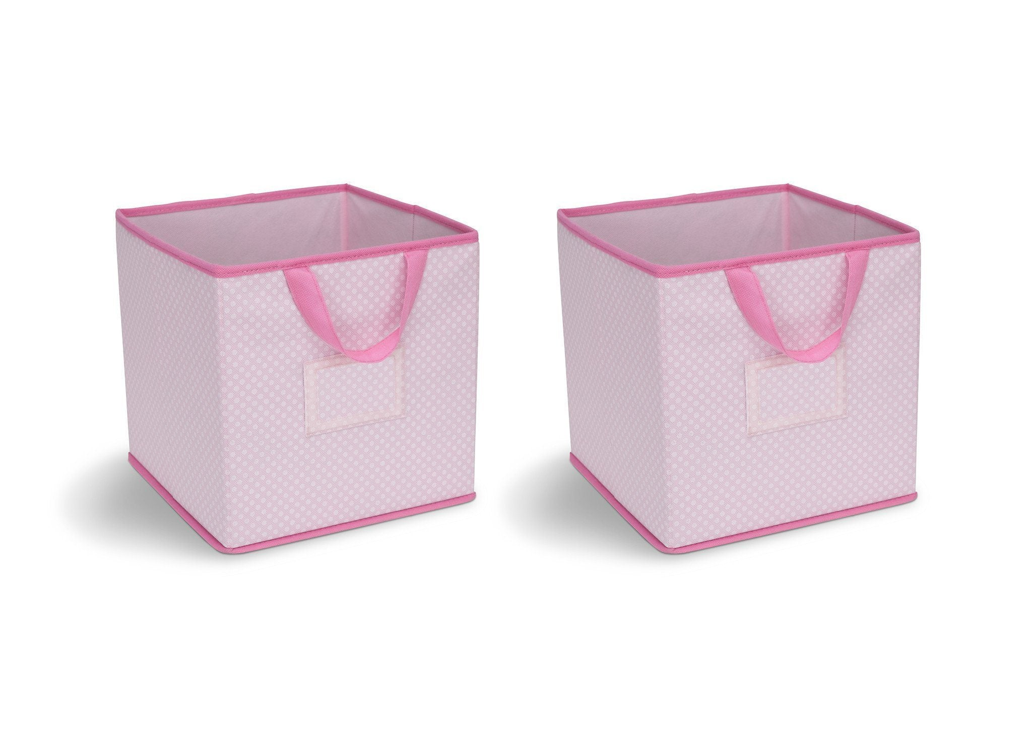 Delta Children Barely Pink (689) 2-Piece Storage Cube Set (SS2155) f1f