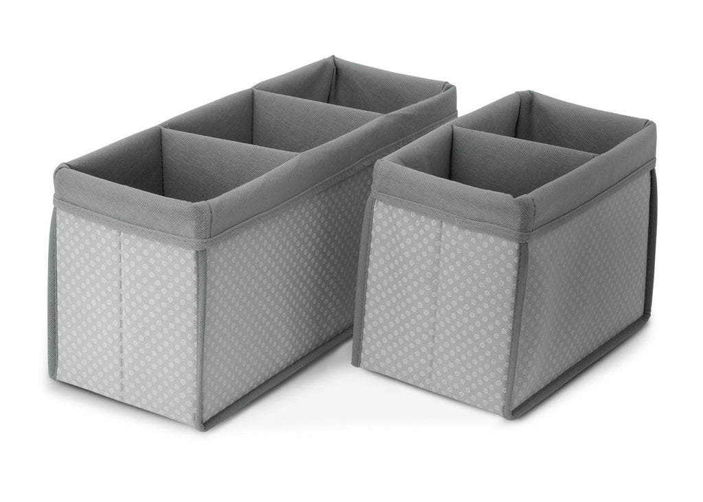Delta Children Dove Grey (058) Nursery Organizer 2 Piece Set a1a
