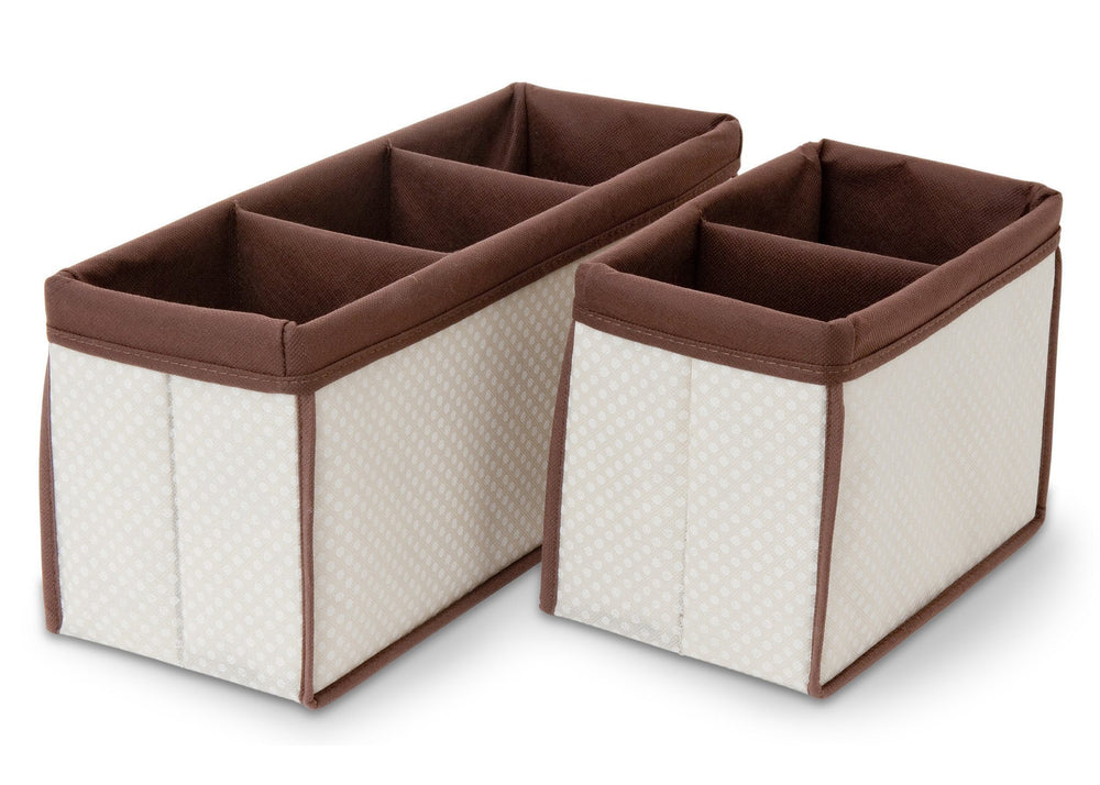 Delta Children Beige (250) Nursery Organizer 2 Piece Set b1b