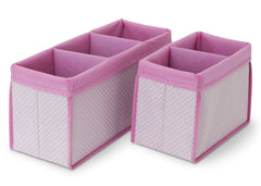 Delta Children Barely Pink (689) Nursery Organizer 2 Piece Set c2c