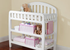 Delta Children Barely Pink (689) Nursery Organizer 2 Piece Set in Setting c1c