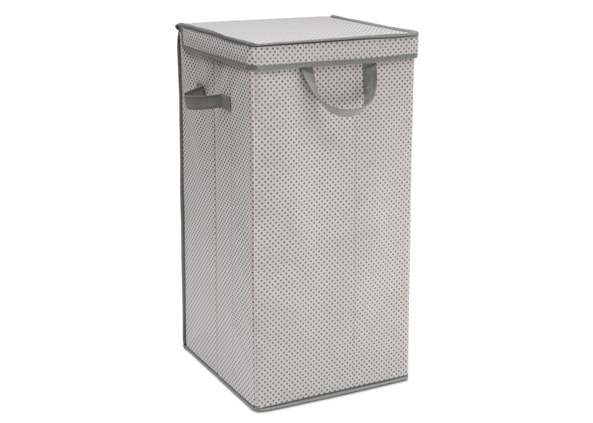 Delta Children Infinity Grey (063) Tall Nursery Clothing Hamper (SS2298), Right Silo, a1a