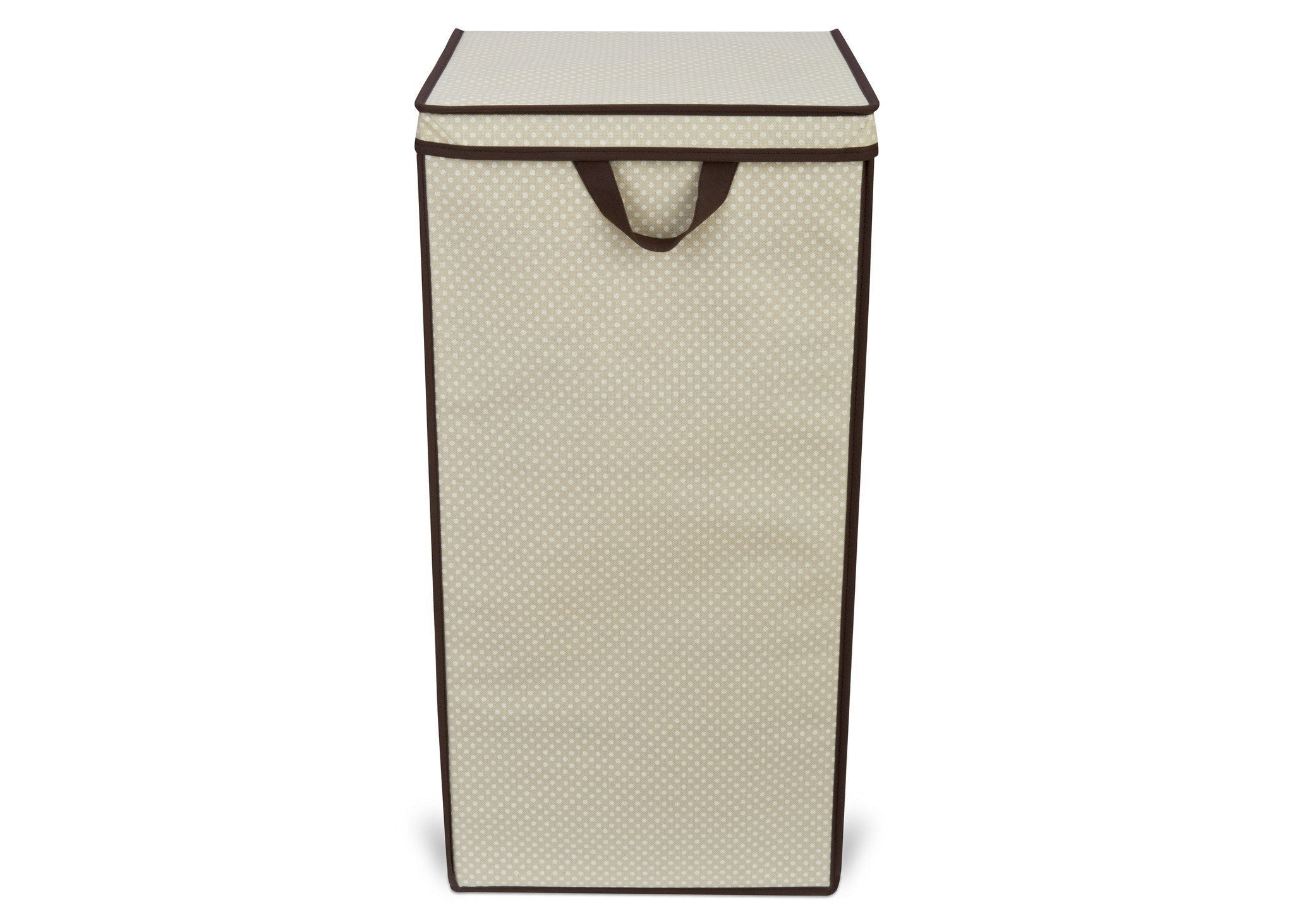 Delta Childern Beige (250) Tall Hamper, Front View b2b